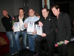 Streetaward 2009, Gruppenbild mit Preis (Foto: Wachsmuth)