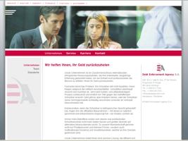 Die DEASA Webseite