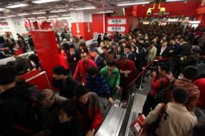 Media Markt Eröffnung in China (Foto: Media-Saturn / obs)